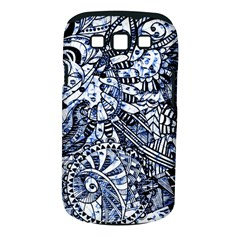 Zentangle Mix 1216b Samsung Galaxy S III Classic Hardshell Case (PC+Silicone)