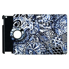 Zentangle Mix 1216b Apple iPad 2 Flip 360 Case
