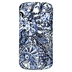 Zentangle Mix 1216b Samsung Galaxy S3 S III Classic Hardshell Back Case