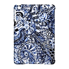 Zentangle Mix 1216b Apple iPad Mini Hardshell Case (Compatible with Smart Cover)