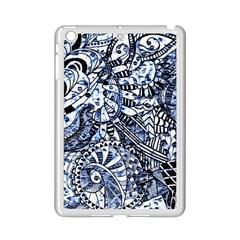 Zentangle Mix 1216b iPad Mini 2 Enamel Coated Cases