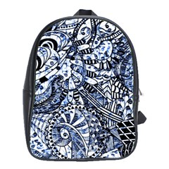 Zentangle Mix 1216b School Bags (XL)