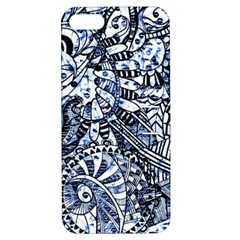 Zentangle Mix 1216b Apple iPhone 5 Hardshell Case with Stand