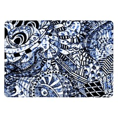 Zentangle Mix 1216b Samsung Galaxy Tab 10.1  P7500 Flip Case