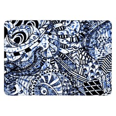 Zentangle Mix 1216b Samsung Galaxy Tab 8.9  P7300 Flip Case