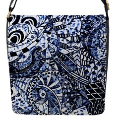 Zentangle Mix 1216b Flap Messenger Bag (S)