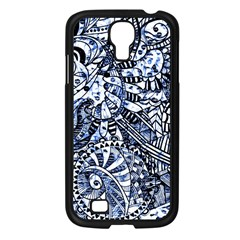 Zentangle Mix 1216b Samsung Galaxy S4 I9500/ I9505 Case (Black)