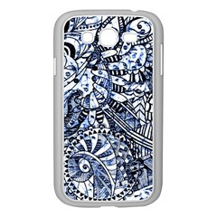 Zentangle Mix 1216b Samsung Galaxy Grand DUOS I9082 Case (White)