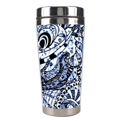 Zentangle Mix 1216b Stainless Steel Travel Tumblers