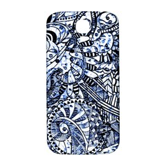 Zentangle Mix 1216b Samsung Galaxy S4 I9500/I9505  Hardshell Back Case