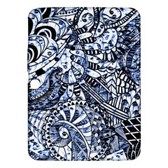 Zentangle Mix 1216b Samsung Galaxy Tab 3 (10.1 ) P5200 Hardshell Case
