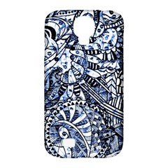 Zentangle Mix 1216b Samsung Galaxy S4 Classic Hardshell Case (PC+Silicone)