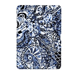 Zentangle Mix 1216b Samsung Galaxy Tab 2 (10.1 ) P5100 Hardshell Case