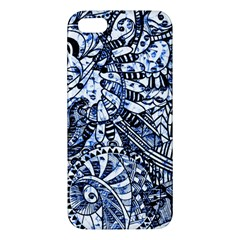 Zentangle Mix 1216b iPhone 5S/ SE Premium Hardshell Case