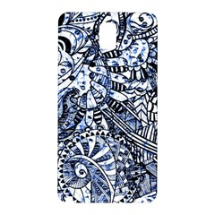 Zentangle Mix 1216b Samsung Galaxy Note 3 N9005 Hardshell Back Case