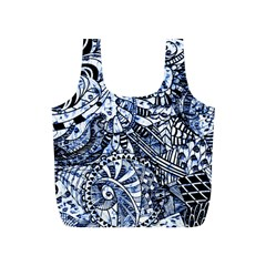 Zentangle Mix 1216b Full Print Recycle Bags (S)