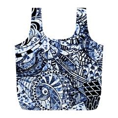 Zentangle Mix 1216b Full Print Recycle Bags (L)
