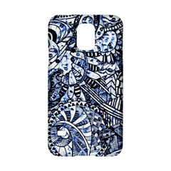 Zentangle Mix 1216b Samsung Galaxy S5 Hardshell Case
