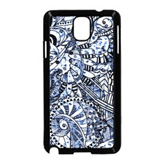 Zentangle Mix 1216b Samsung Galaxy Note 3 Neo Hardshell Case (Black)