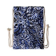 Zentangle Mix 1216b Drawstring Bag (Small)