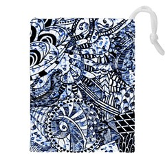 Zentangle Mix 1216b Drawstring Pouches (XXL)
