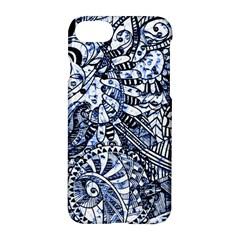Zentangle Mix 1216b Apple iPhone 7 Hardshell Case