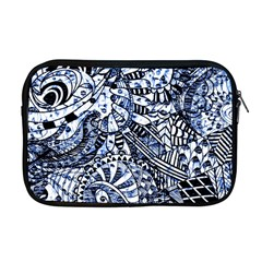 Zentangle Mix 1216b Apple MacBook Pro 17  Zipper Case