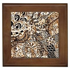 Zentangle Mix 1216c Framed Tiles