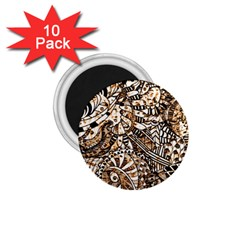 Zentangle Mix 1216c 1.75  Magnets (10 pack)