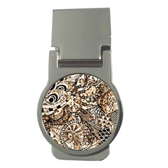 Zentangle Mix 1216c Money Clips (Round)