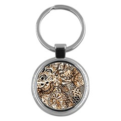 Zentangle Mix 1216c Key Chains (Round)