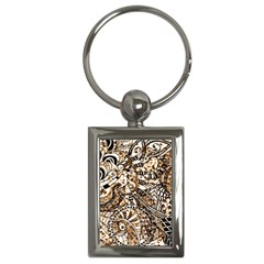Zentangle Mix 1216c Key Chains (Rectangle)