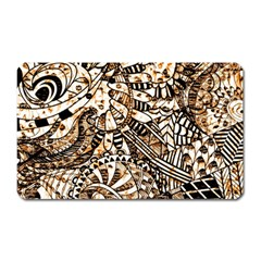 Zentangle Mix 1216c Magnet (Rectangular)