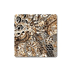 Zentangle Mix 1216c Square Magnet
