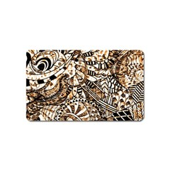 Zentangle Mix 1216c Magnet (Name Card)