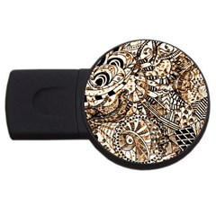 Zentangle Mix 1216c USB Flash Drive Round (1 GB)