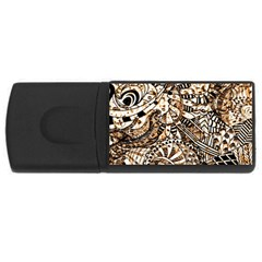 Zentangle Mix 1216c USB Flash Drive Rectangular (1 GB)
