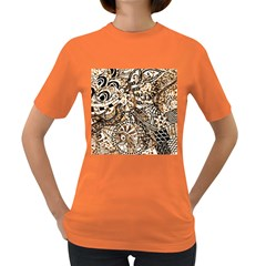 Zentangle Mix 1216c Women s Dark T-Shirt