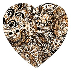 Zentangle Mix 1216c Jigsaw Puzzle (Heart)