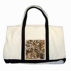 Zentangle Mix 1216c Two Tone Tote Bag