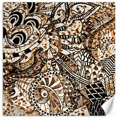 Zentangle Mix 1216c Canvas 16  x 16