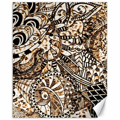 Zentangle Mix 1216c Canvas 16  x 20