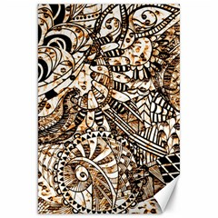 Zentangle Mix 1216c Canvas 20  x 30