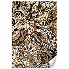 Zentangle Mix 1216c Canvas 24  x 36