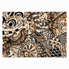 Zentangle Mix 1216c Large Glasses Cloth