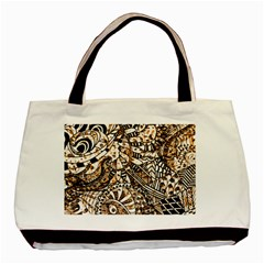 Zentangle Mix 1216c Basic Tote Bag (Two Sides)