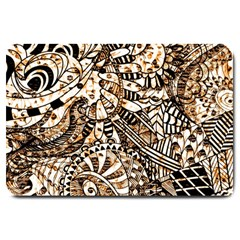 Zentangle Mix 1216c Large Doormat