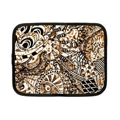 Zentangle Mix 1216c Netbook Case (Small)