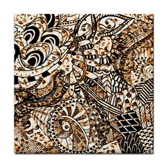 Zentangle Mix 1216c Face Towel