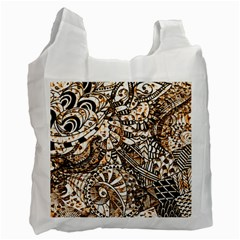 Zentangle Mix 1216c Recycle Bag (Two Side)